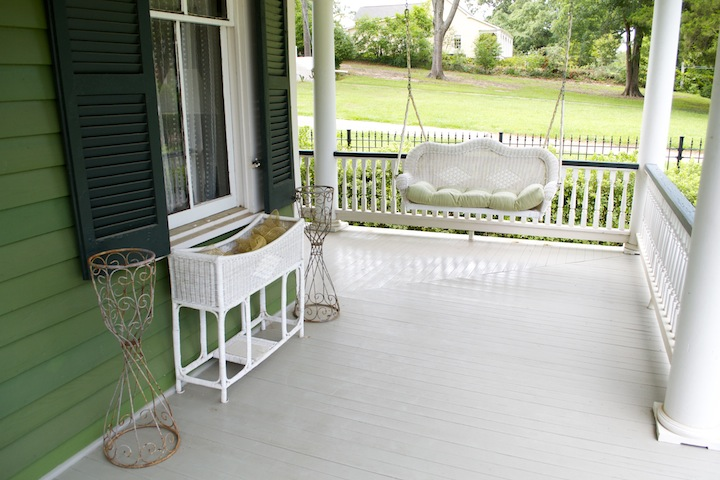 Evergreen - Porch